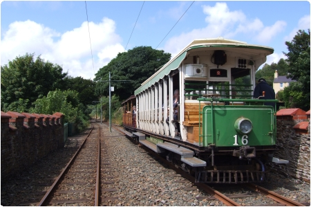 Car No.16 and Trailer No.51 at Minorca, July 2013. © Alex Fairlie
