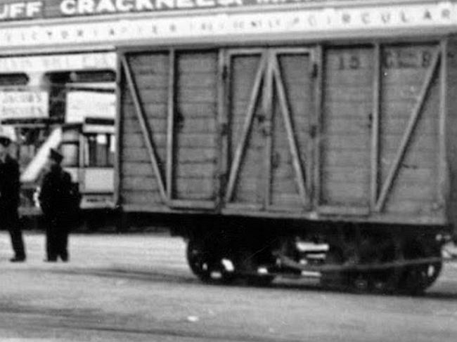 Van No.15 at Derby Castle, 1930s © Travel Lens Photographic