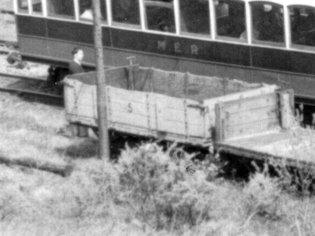 Wagon No.5 at Dhoon Quarry, May 1956. © Website Collection