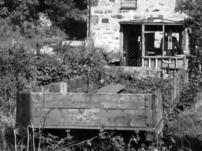 Wagon No.20 at Dhoon Quarry, September 1956 © Website Collection