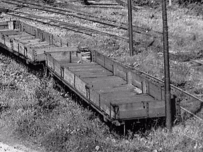 Wagon No.24 at Dhoon Quarry, 1949 © Travel Lens Photographic
