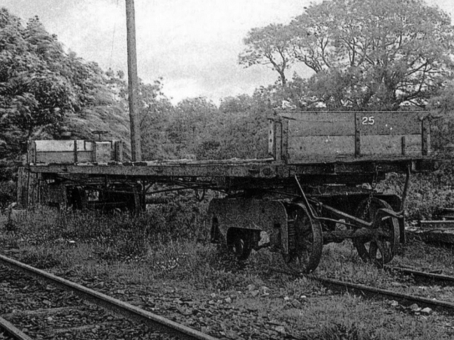 Wagon No.25 at Dhoon Quarry, 1949 © Travel Lens Photographic