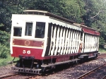 Trailer No.56, Laxey Car Shed, 1969