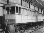 Car No.10 (26), Laxey Car Shed, 1950s