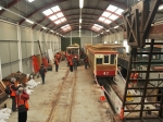 Tour Participants, Laxey CarShed