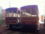 Friday 26th, Derby Castle Top Shed, Trailer No.42 andNo.43
