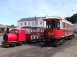 Wednesday 24th, Ramsey, Ramsey Pier Locomotive/Trailer, CarNo.2
