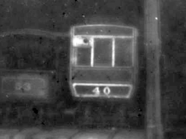Trailer No.40 inside Derby Castle Top Sheds, 1922 ©iMuseum