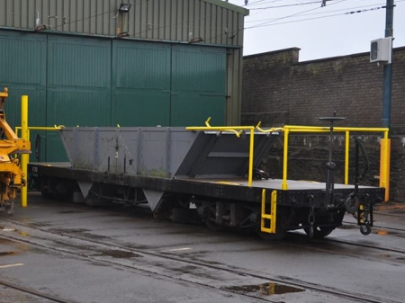 F.70 outside Derby Castle Car Shed, December 2013 © Andrew Scarffe