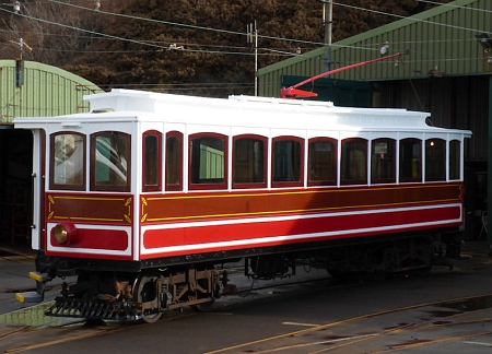 Car No.20 awaits the completion of its Winter paint-job, March 2014 © Jon Wornham