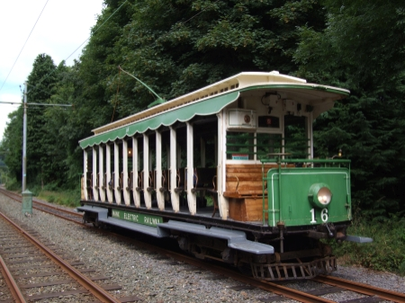 Car No.16 stands next to the Feeder Point at Ballajora Quarry, July 2012 © Alex Fairlie