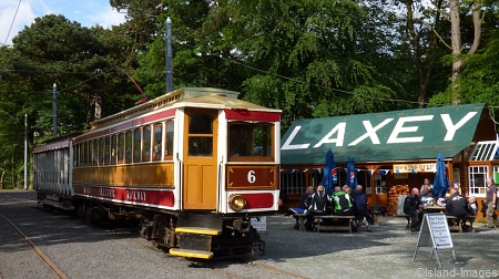 Car No.6 at Laxey, 05.06.14. © Jon Wornham