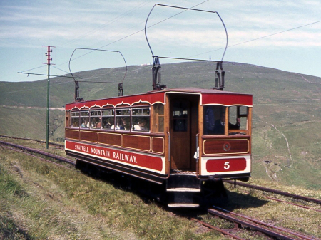 The 'new' Car No.5, sporting it's reconstructed body in the early 1970s, with new windows and no clerestory roof. © Richard Pryke