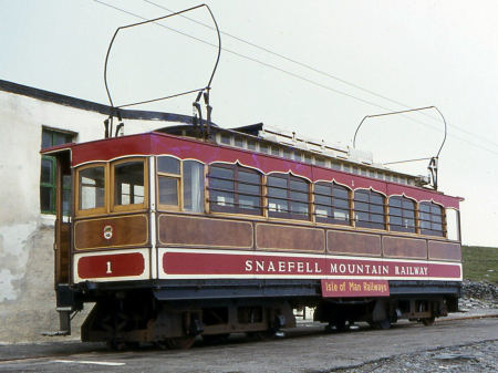 The re-equipped Car No.1 at the Summit, 1979. © Richard Pryke