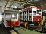 Horse Tram No.36, Derby Castle Top Shed,11/04/2017