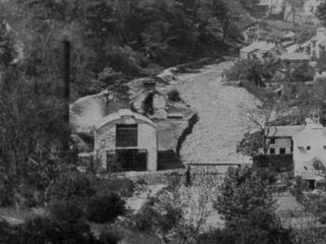 Buildings Laxey Power Station And Turbine House 1894
